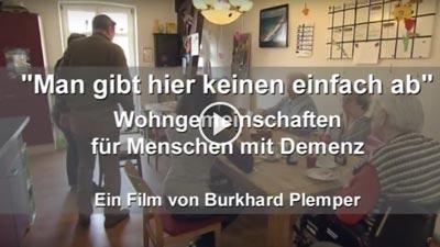 Screenshot Film über WGs mit Menschen mit Demenz