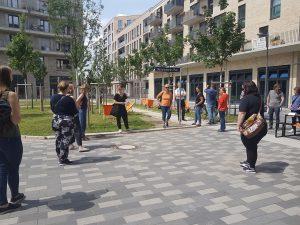 Rundgang Mitte Altona im Rahmen des Forum Quartiers am 8. Juli 2021
